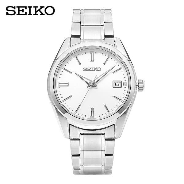 [세이코 SEIKO] SUR307P1 (SUR307J1) / 클래식 Classic 흰판 남성용 메탈시계 40mm 타임메카