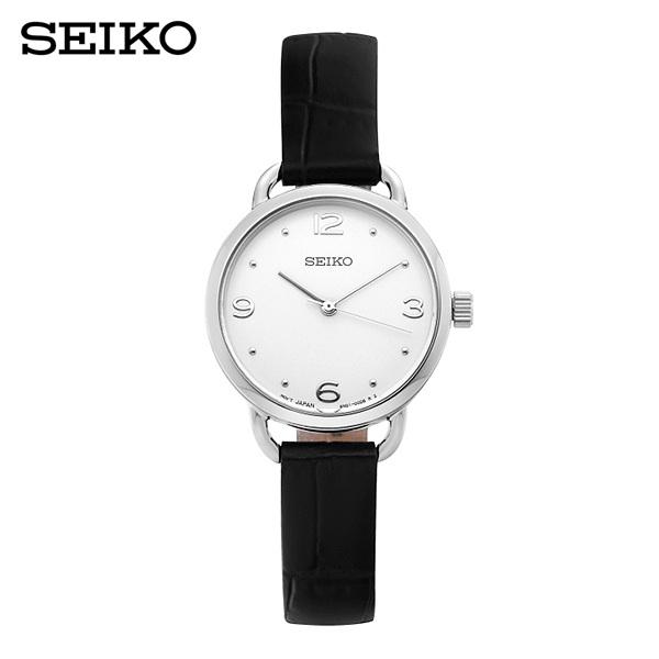 [세이코 SEIKO] SUR669P2 / 여성용 가죽시계 26mm