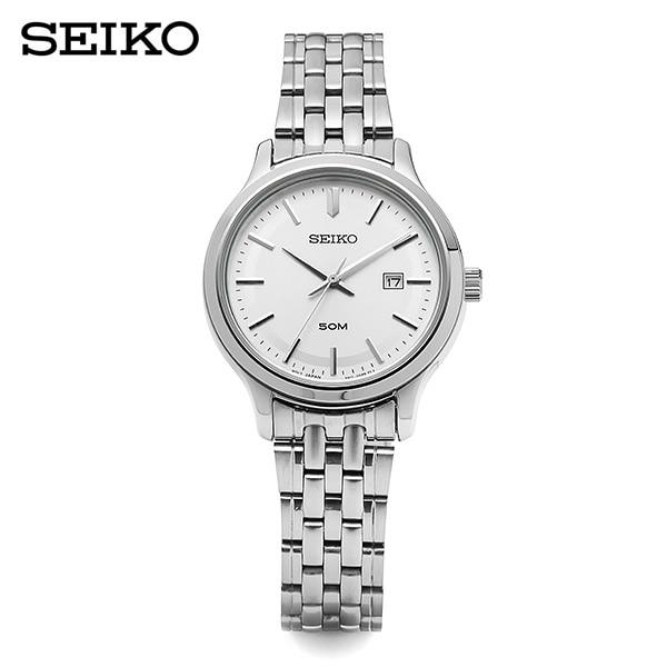 [세이코시계 SEIKO] SUR799P1 / 여성 메탈시계 흰판 30mm
