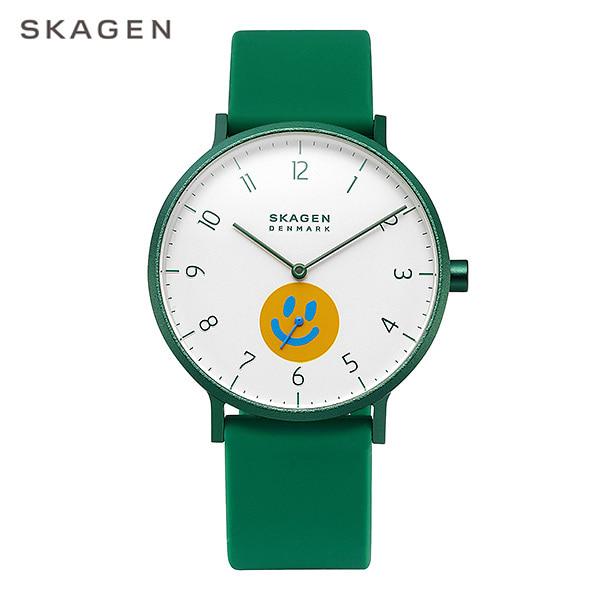 [스카겐시계 SKAGEN] SKW6706 / SKAGEN x Neighborhood AAREN 남성용 실리콘밴드 시계 40mm 타임메카