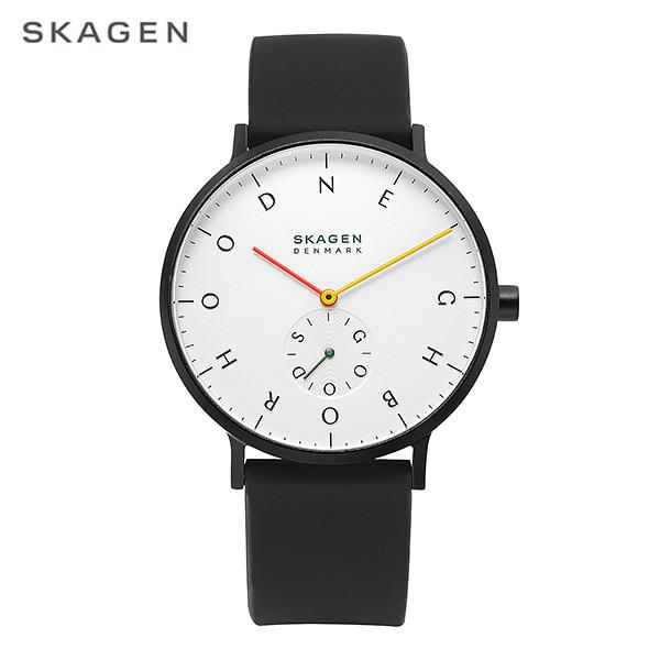 [스카겐시계 SKAGEN] SKW6707 / SKAGEN x Neighborhood AAREN 남성용 실리콘밴드 시계 40mm 타임메카