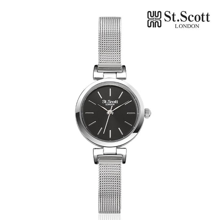 [세인트스코트 ST.SCOTT] ST5058SBS 패시뉴 여성용 메탈시계 23.5mm 타임메카