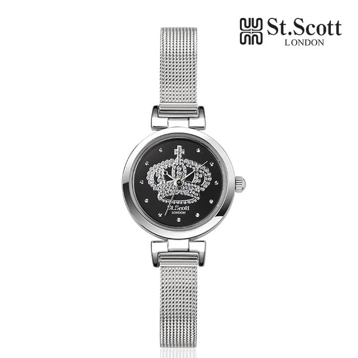 [세인트스코트 ST.SCOTT] ST5061SBS 글로리아 여성용 메탈시계 21mm 타임메카