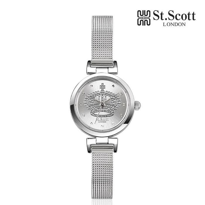[세인트스코트 ST.SCOTT] ST5061SSS 글로리아 여성용 메탈시계 21mm 타임메카