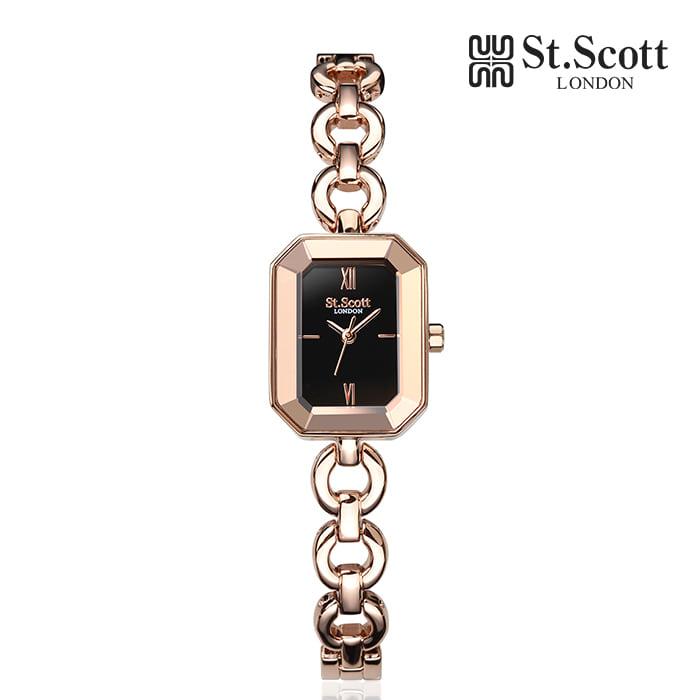 [세인트스코트 ST.SCOTT] ST5062RBR 보니타 여성용 메탈시계 20mm 타임메카