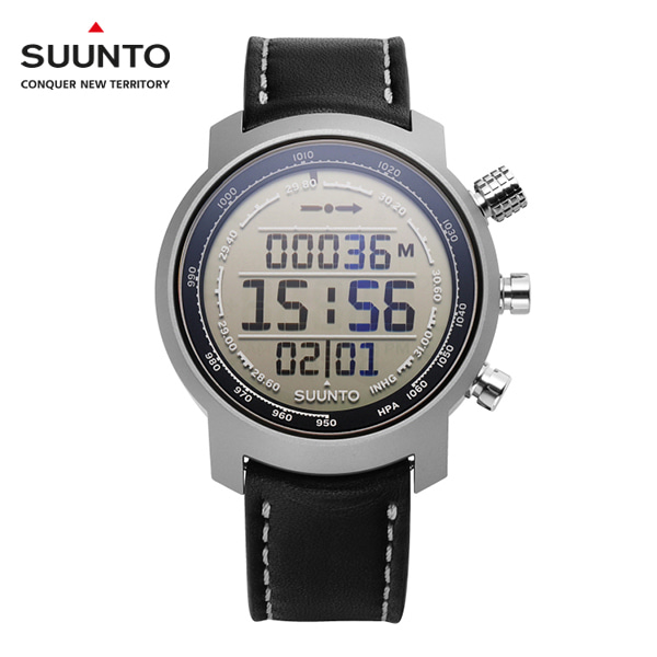 [순토시계 SUUNTO] SS014523000 ELEMENTUM TERRA P/BLACK LEATHER (엘레멘텀 테라 P/블랙 레더) 44.7mm