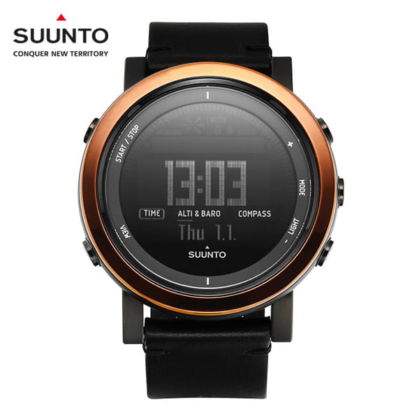 [순토 SUUNTO] SS022439000 / 에션셜 Essential Ceramic Copper Black 49mm