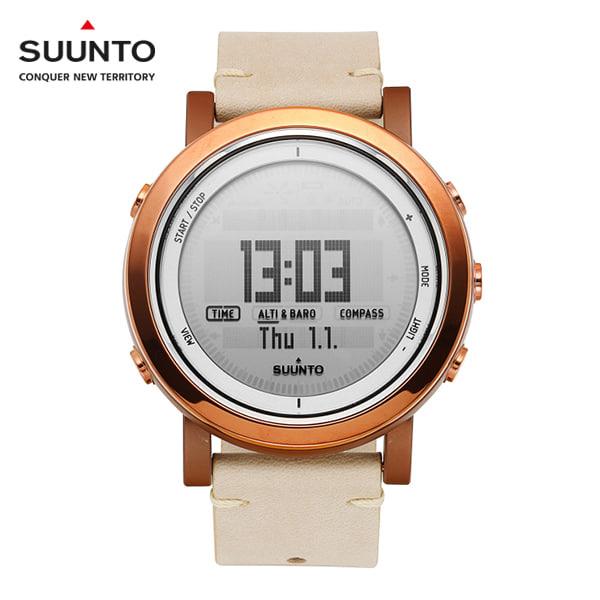 ☆-) [순토 SUUNTO] SS022441000 / 에션셜 Essential Ceramic Copper 49mm