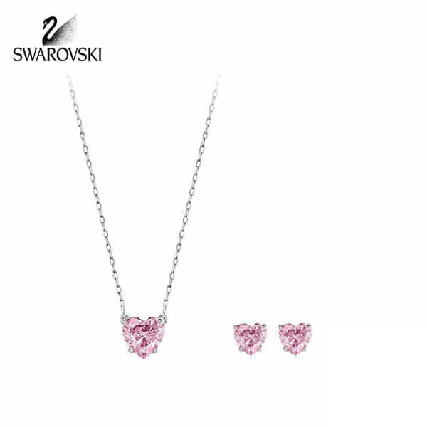[스와로브스키 SWAROVSKI] 5181005 Attract Heart set