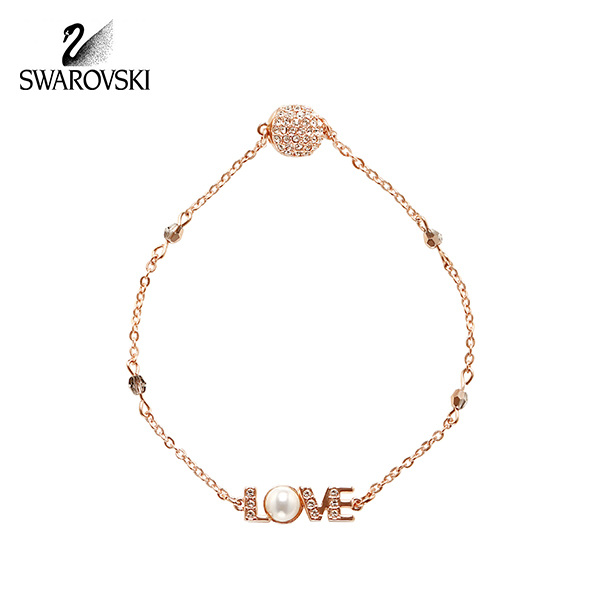 [스와로브스키 SWAROVSKI] 5353846 / SWAROVSKI REMIX COLLECTION EMOTION 로즈골드 팔찌