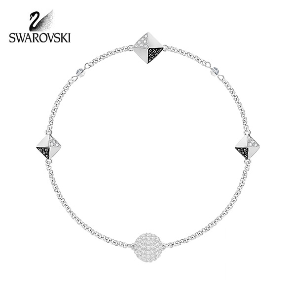 [스와로브스키 SWAROVSKI] 5354760 SWAROVSKI REMIX COLLECTION BLACK AND WHITE 팔찌