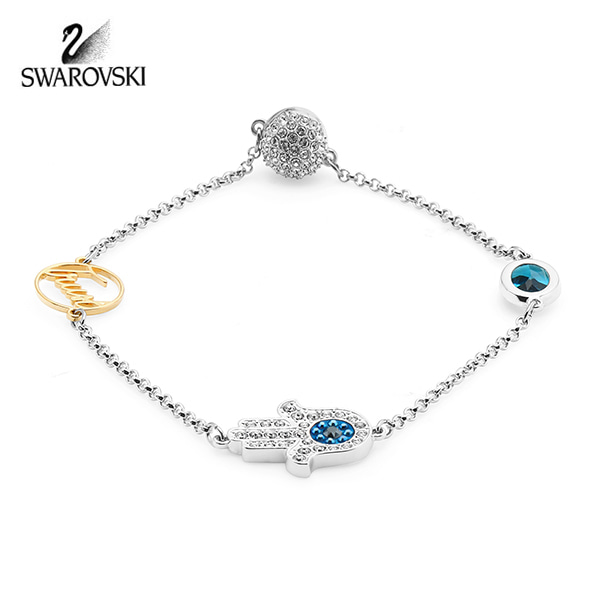 [스와로브스키 SWAROVSKI] 5365759 / SWAROVSKI REMIX COLLECTION HAMSA HAND SYMBOL 팔찌