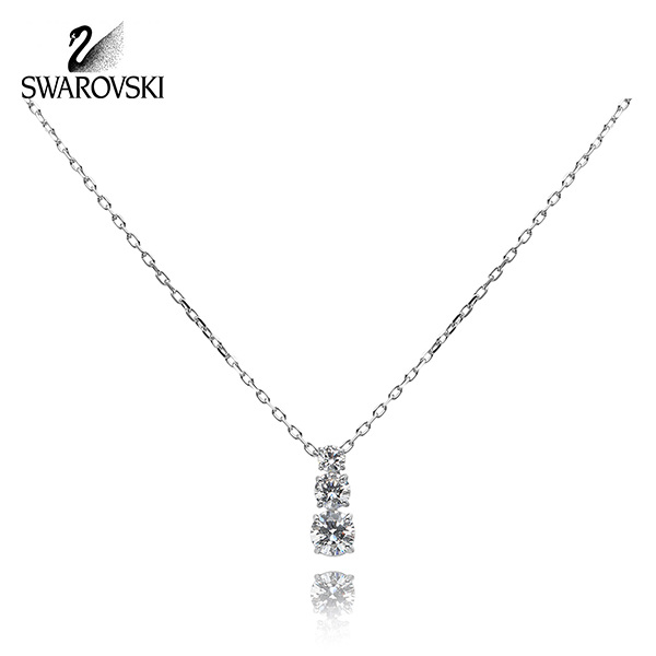 [스와로브스키 SWAROVSKI] 5414970 / ATTRACT TRILOGY ROUND 목걸이