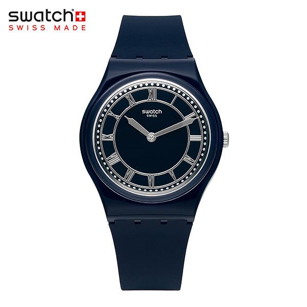 [스와치시계 SWATCH] GN254 / BLUE BEN 남녀공용 젤리시계 34mm 타임메카