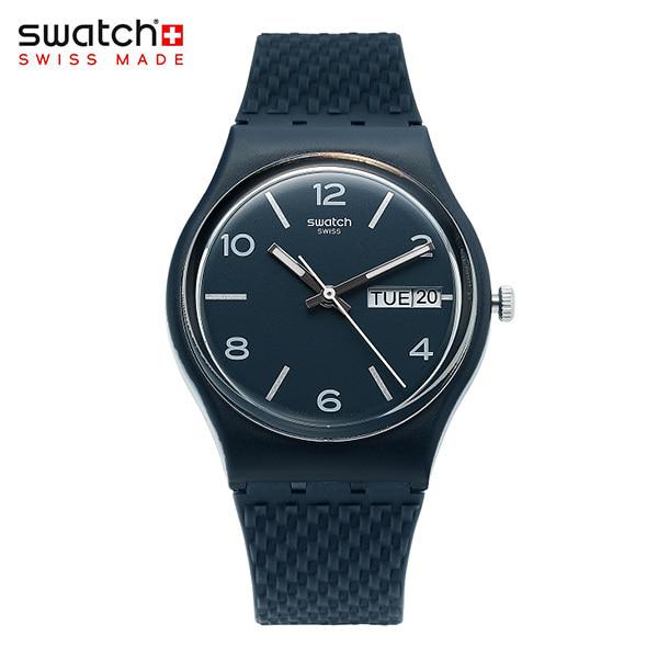 [스와치시계 SWATCH] GN725 / LASERATA 남녀공용 실리콘 젤리시계 34mm 타임메카