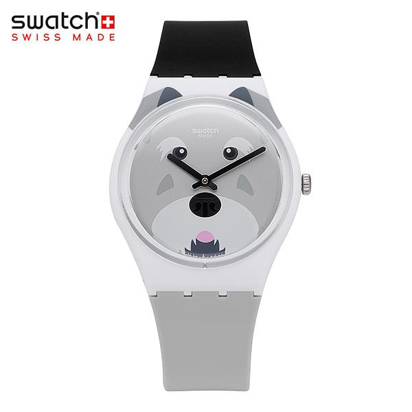 [스와치시계 SWATCH] GW210 / SCHNAUTZI 남녀공용 실리콘 젤리시계 34mm 타임메카