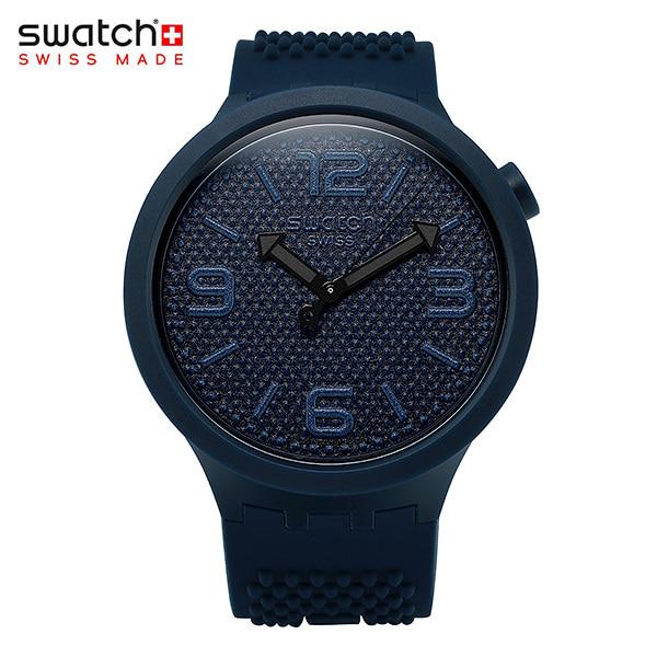 [스와치시계 SWATCH] SO27N100 / BBNAVY 남성용 실리콘 젤리시계 47mm 타임메카