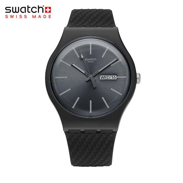 [스와치시계 SWATCH] SUOM708 / BRICAGRIS 남녀공용 실리콘 젤리시계 34mm 타임메카