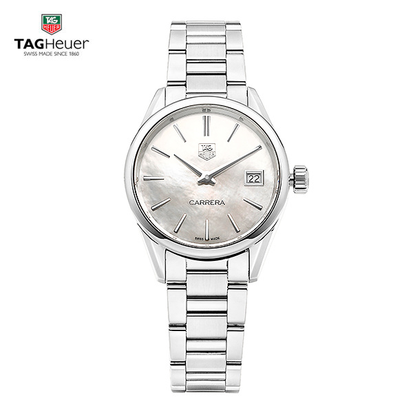 얼마줬스-) [태그호이어시계 TAG HEUER] WAR1311.BA0778 (WAR1311.BA0773) 까레라(CARRERA) Mother of Pearl dial 32mm