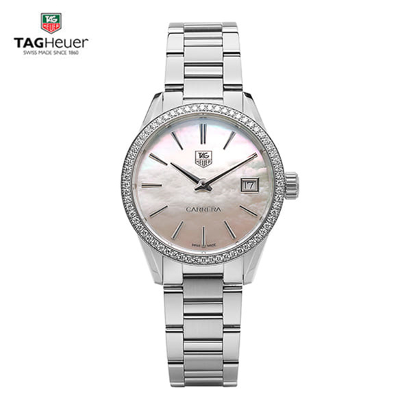 [태그호이어시계 TAG HEUER] WAR1315.BA0778 / 까레라 (CARRERA) Diamond Womens 32mm
