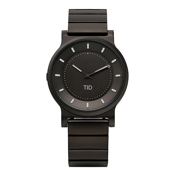 [티아이디 TID] 40101012 / No.4 Gun Metal / Gun Metal Wristband 남성용 메탈시계 40mm 타임메카