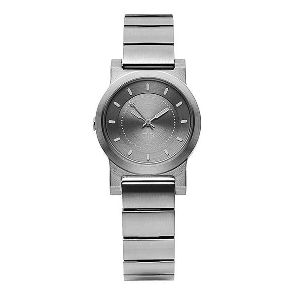 [티아이디 TID] 40303031 / No.4 Silver Grey / Silver Grey Metal Wristband 여성용 메탈시계 28mm 타임메카