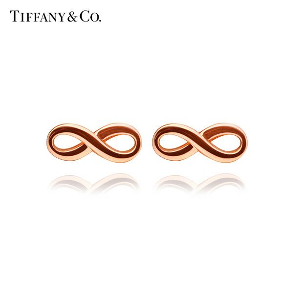 [티파니앤코 TIFFANY&CO] 35509631 / Tiffany Infinity 티파니 인피니티 18K 로즈 골드 귀걸이 타임메카