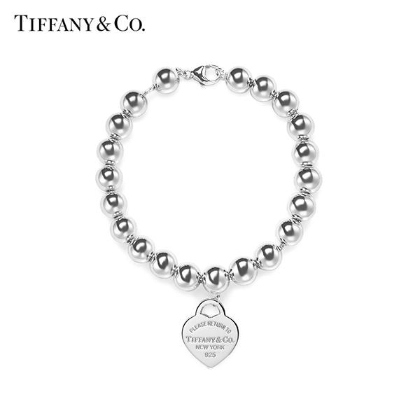 [티파니앤코 TIFFANY&CO] GRP03449(27630138/26545285) / Return to Tiffany 리턴 투 티파니 하트 태그 비드 팔찌 타임메카