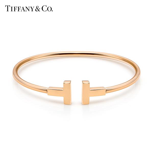 [티파니앤코 TIFFANY&CO] GRP07789(33419732) / Tiffany T 티파티 T 와이어 18K 로즈골드 팔찌 타임메카