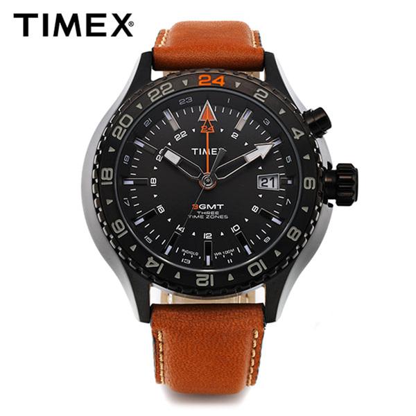 [타이맥스시계 TIMEX] T2P427 / 인텔리젠트 Intelligent 3GMT 47mm