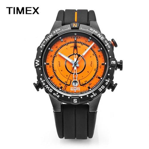 [타이맥스시계 TIMEX] T49706 / 익스페디션 해운대시계 조수계 온도계 나침반 45mm