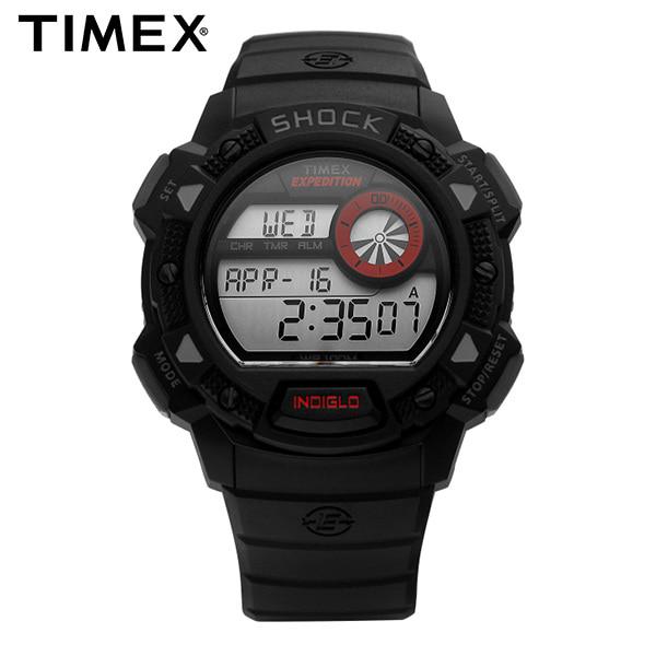 [타이맥스시계 TIMEX] T49977 / Expedition 익스페디션 크로노그래프 남성용 우레탄시계 45mm