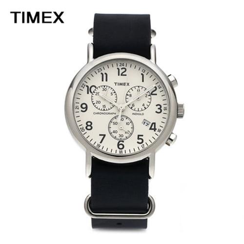 [타이맥스시계 TIMEX] TW2P62100 / 위켄더 인디글로라이트 크로노그래프 Weekender Indiglo Chronograph 40mm