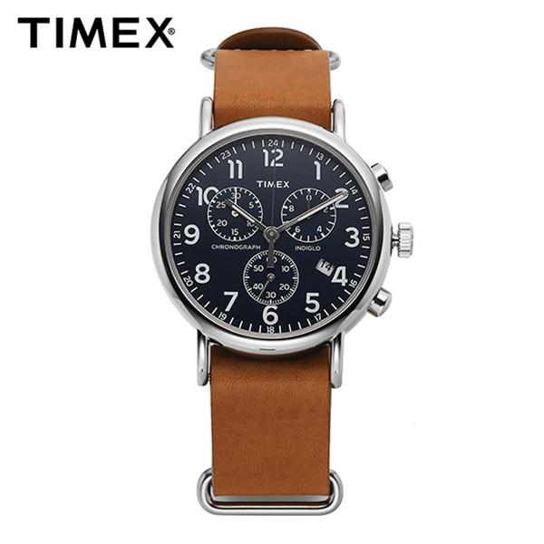★-) [타이맥스시계 TIMEX] TW2P62300 / 위켄더 인디글로라이트 크로노그래프 Weekender Indiglo Chronograph 40mm