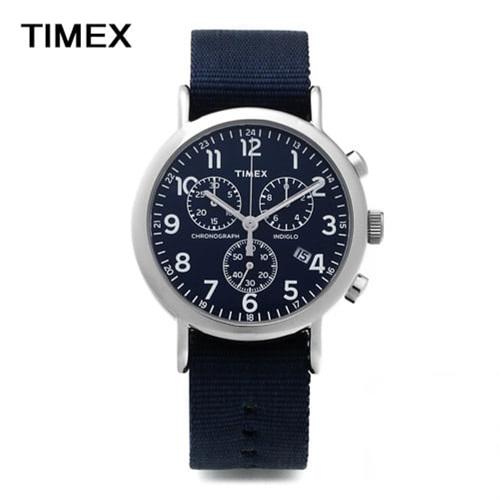 신년맞이-) [타이맥스시계 TIMEX] TW2P71300 / 위켄더 인디글로라이트 크로노그래프 40mm / 응팔 류준열 착용모델