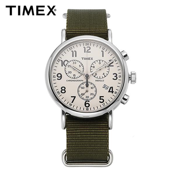 ★-) [타이맥스시계 TIMEX] TW2P71400 / 위켄더 인디글로라이트 크로노그래프 Weekender Indiglo Chronograph 40mm