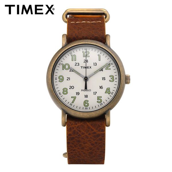 [타이맥스시계 TIMEX] TW2P85700 / 위켄더 Weekender 남성용 가죽시계 40mm