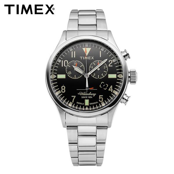 [타이맥스시계 TIMEX] TW2R24900 / 워터베리 Waterbury 남성용 메탈시계 43mm