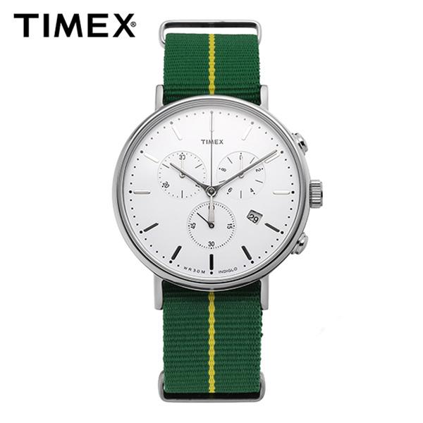 ☆-) [타이맥스시계 TIMEX] TW2R26900 / 위켄더 페어필드 인디글로라이트 Weekender Indiglo 41mm