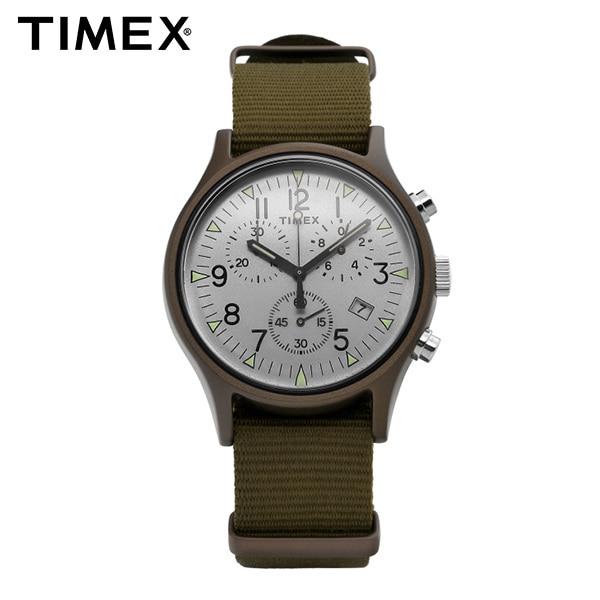 [타이맥스시계 TIMEX] TW2R67900 / MK1 크로노그래프 남성용 나토밴드 시계 40mm