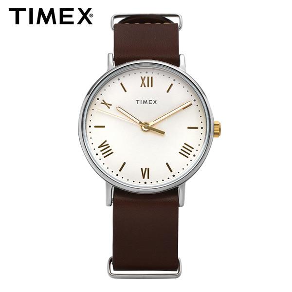 [타이맥스시계 TIMEX] TW2R80400 / Southview 사우스뷰 남성용 가죽시계 41mm
