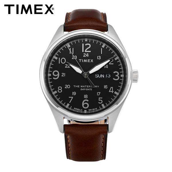 [타이맥스시계 TIMEX] TW2R89000 / 워터베리 Waterbury 남성용 가죽시계 42mm