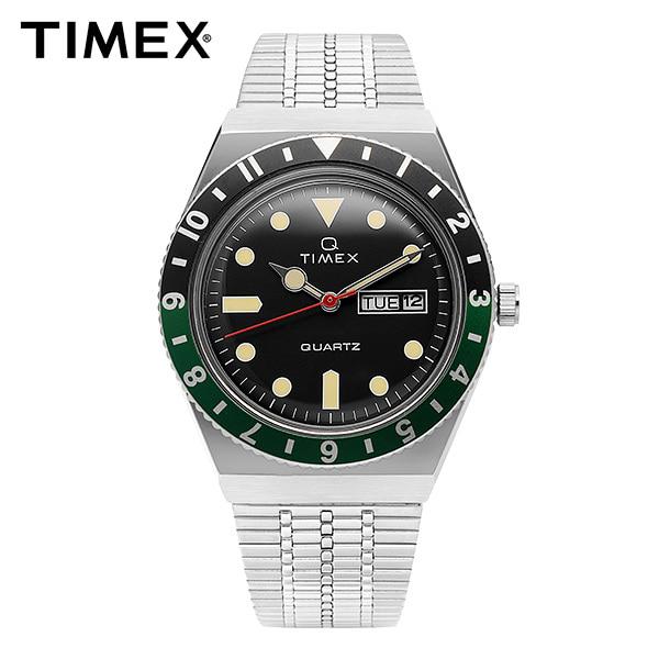 [타이맥스 TIMEX] TW2U60900 / 큐타이맥스 QTIMEX 빈티지 레트로 쿼츠 남성 메탈시계 38mm 타임메카