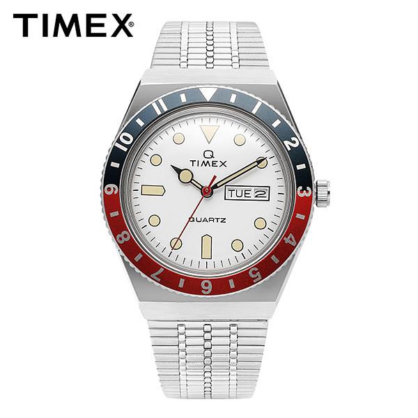 [타이맥스 TIMEX] TW2U61200 / 큐타이맥스 QTIMEX 빈티지 레트로 쿼츠 남성 메탈시계 38mm 타임메카