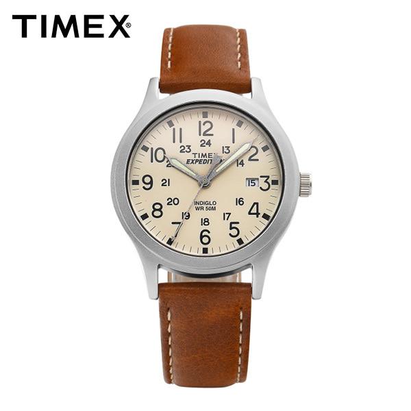 [타이맥스시계 TIMEX] TW4B11000 / 익스페디션 Expedition 스카우트 남녀공용 가죽시계 36mm