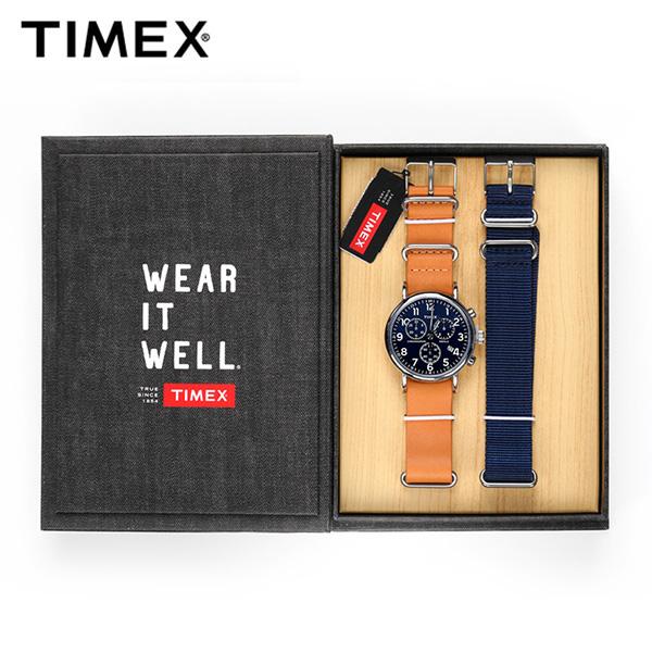 ☆-) [타이맥스시계 TIMEX] TWG012800 / 위켄더 크로노그래프 Weekender Chronopraph 40mm