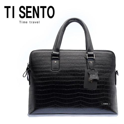 [티센토 TISENTO] 라파엘(Rafael) TL15_BC02_BK 서류가방 아이가다섯 소유진가방