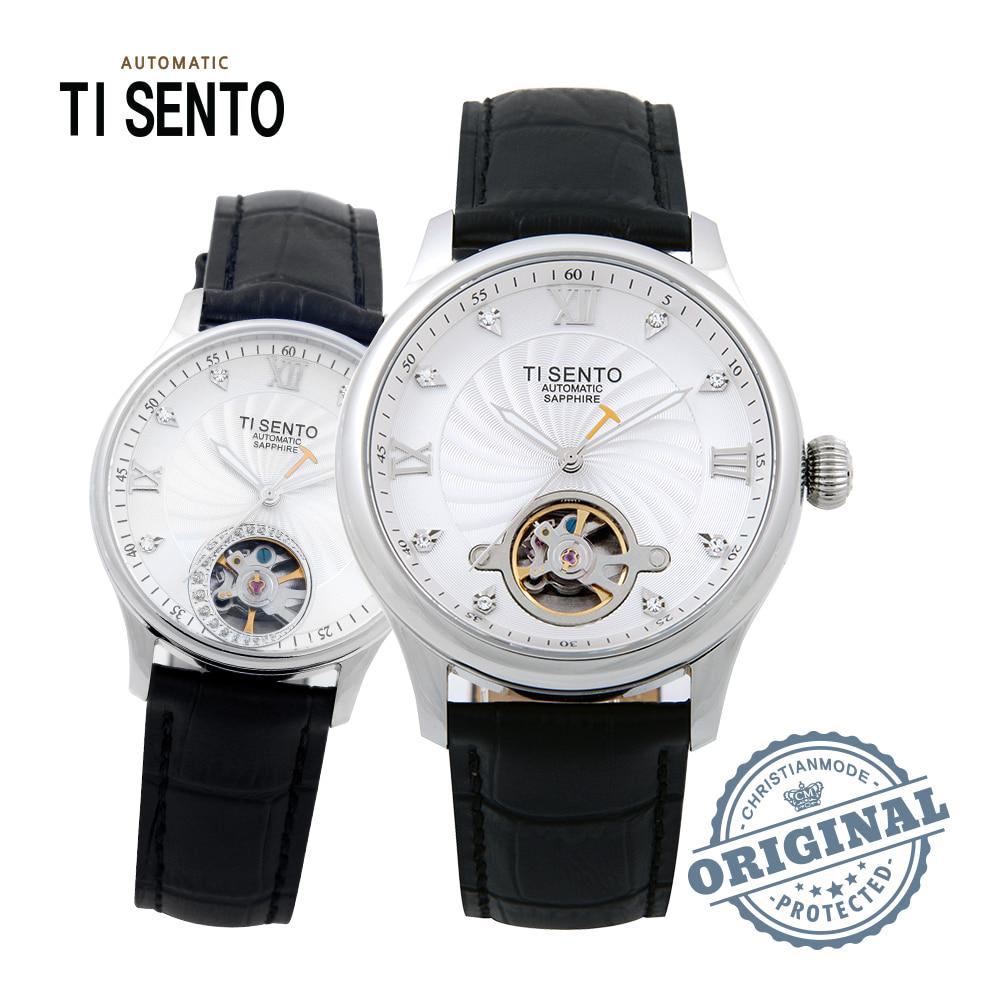 [티센토 TISENTO] TS50301WTBK 하버시티 커플시계