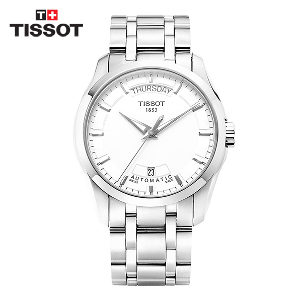 [티쏘시계 TISSOT] T035.407.11.031.00 (T0354071103100) 꾸뜨리에 Decorating the drop 40mm