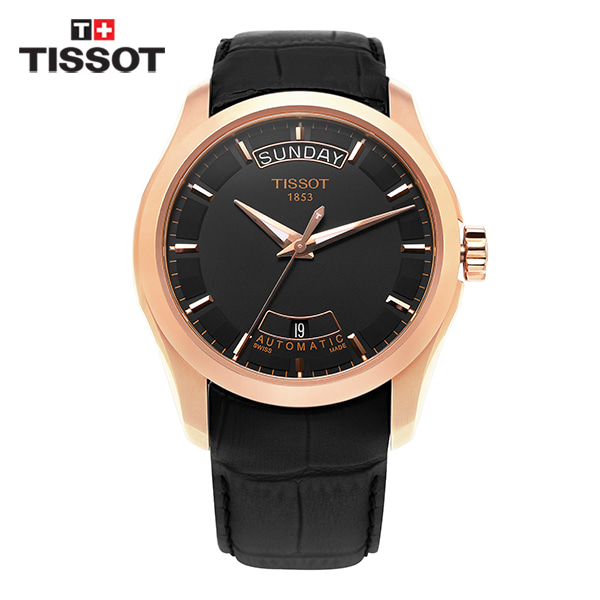 [티쏘시계 TISSOT] T035.407.36.051.00 (T0354073605100) 꾸뜨리에 Decorating the drop 40mm